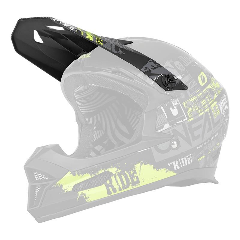 O'NEAL Helmschirm Fury Ride V.22 Visor, Multi