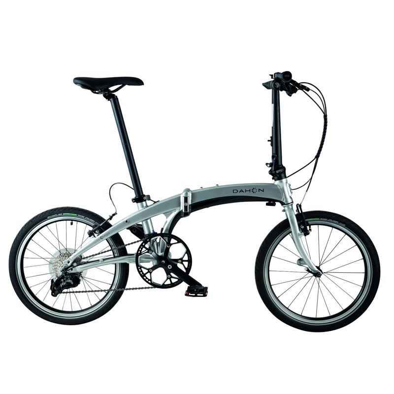 "Dahon Unisex Fahrrad Vigor D9s Faltrad, Silber, 9-Gang, 20"""