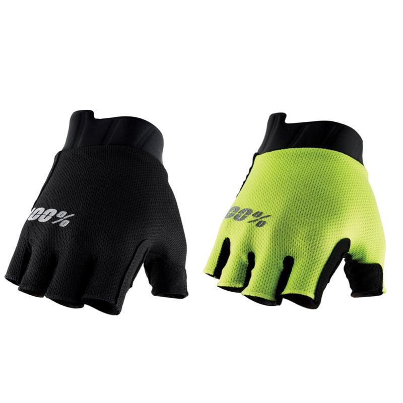 100% Herren Kurze Handschuhe Exceeda Gel