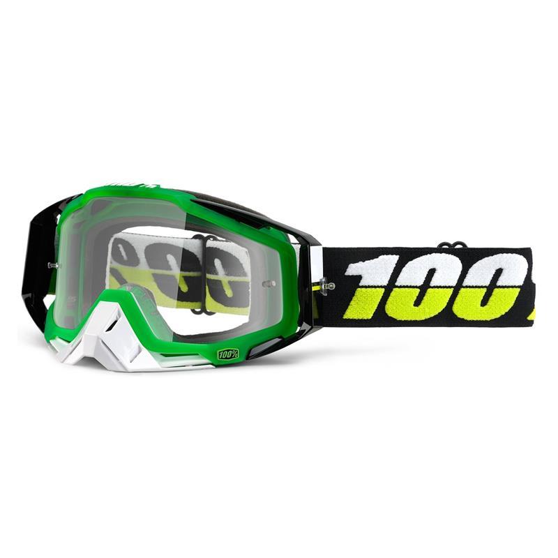 100% Crossbrille Racecraft Goggle Clear