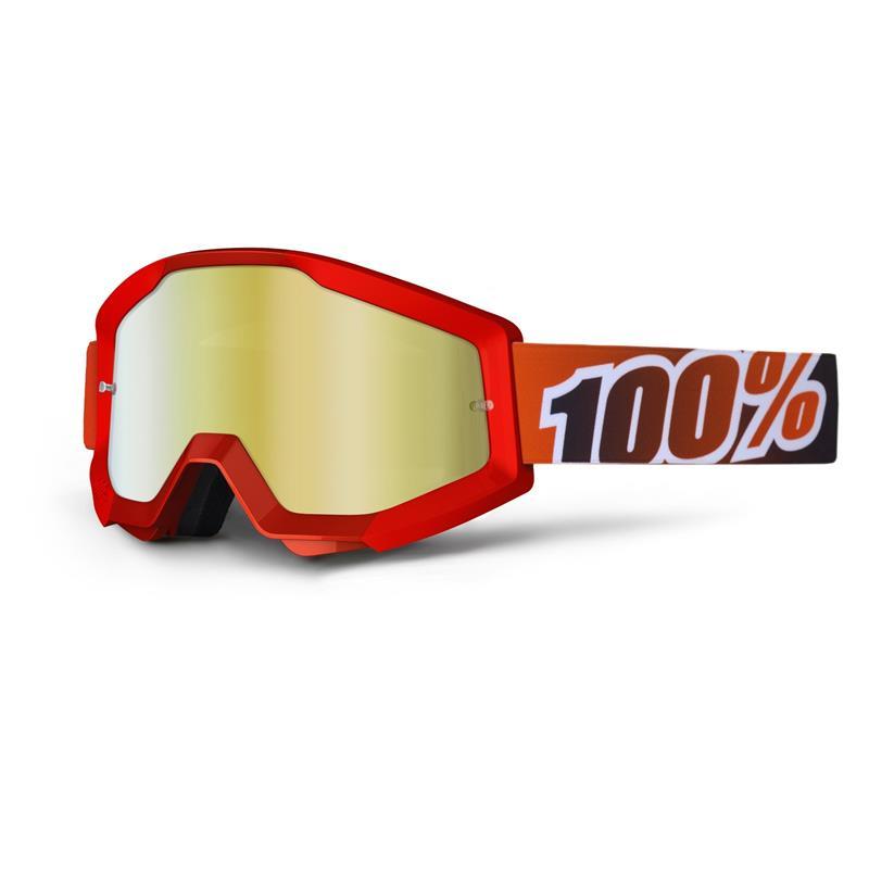 100% Crossbrille Strata Goggle Mirror