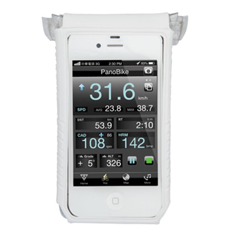 "Topeak Handyhülle Smartphone DryBag 4"", Weiß"