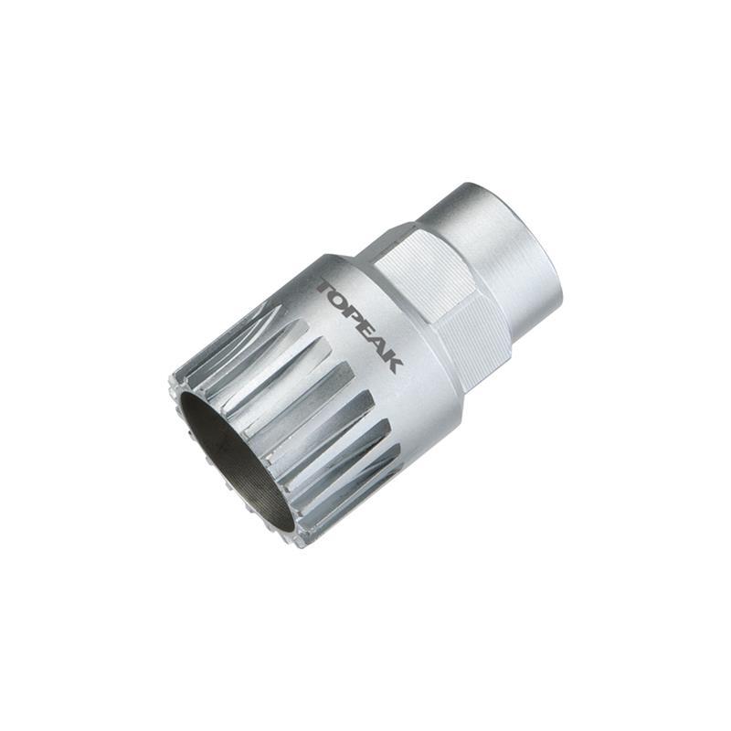 Topeak Tretlagerwerkzeug Cartridge Bottom Bracket Tool, Silber