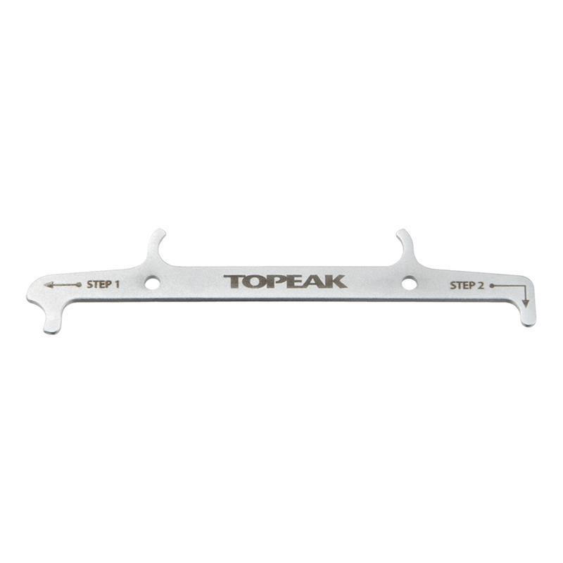 Topeak Kettenverschleißlehre Chain Hook & Wear Indicator, Silber
