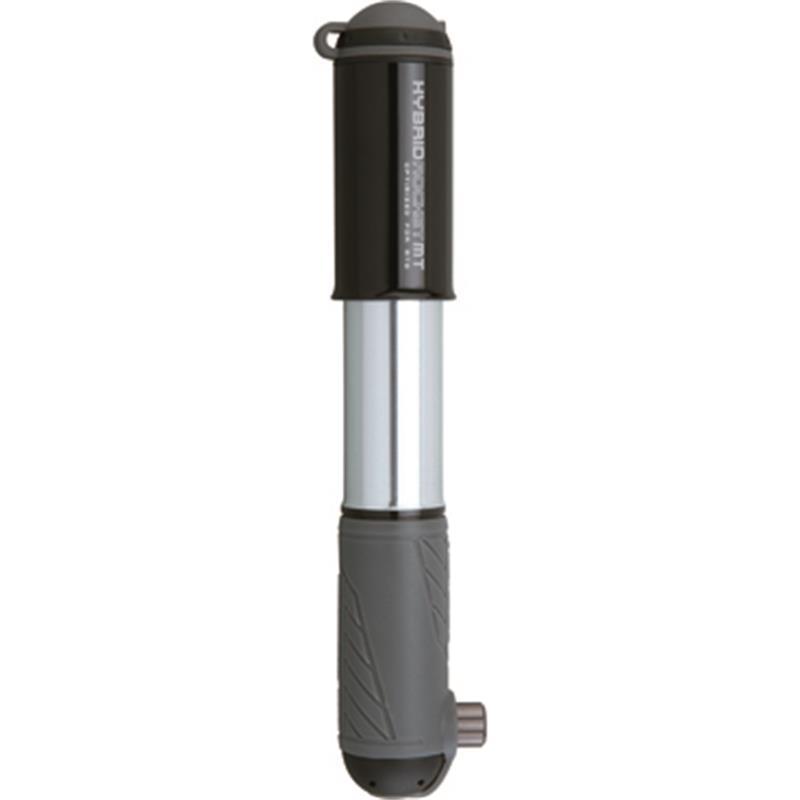 Topeak Handpumpe Hybrid Rocket MT, Schwarz