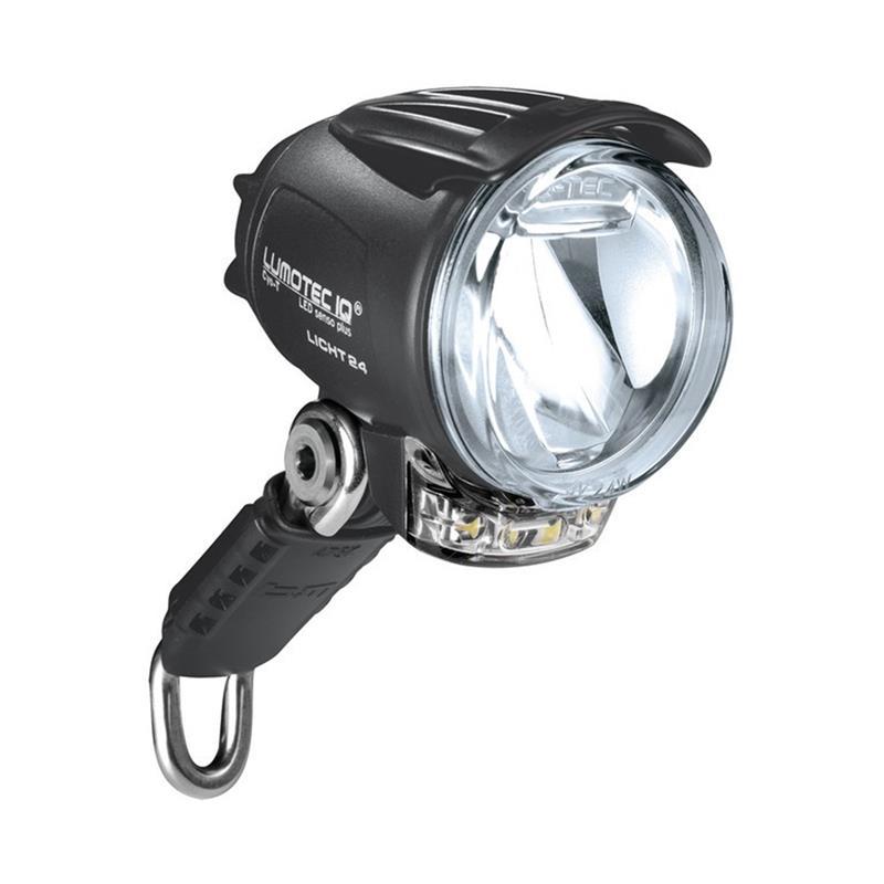 Busch & Müller LED Scheinwerfer Lumotec IQ Cyo Premium T senso Plus, Schwarz