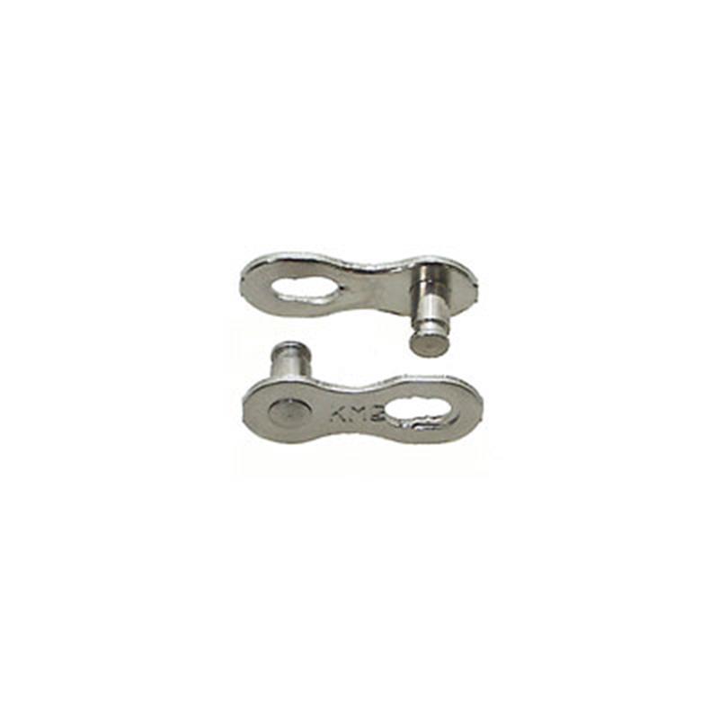 KMC Fahrradkettenschloss 1/2 3/32, Silber