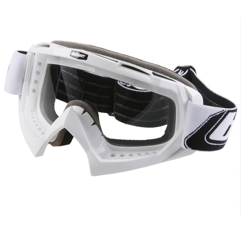 O'Neal Crossbrille B-Flex Goggle Blur Clear, Weiß