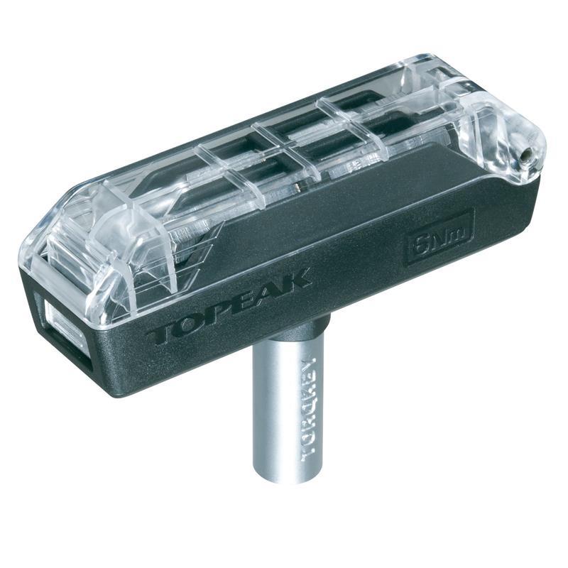 Topeak Drehmomentschlüssel Torque 6 Nm, Schwarz Silber
