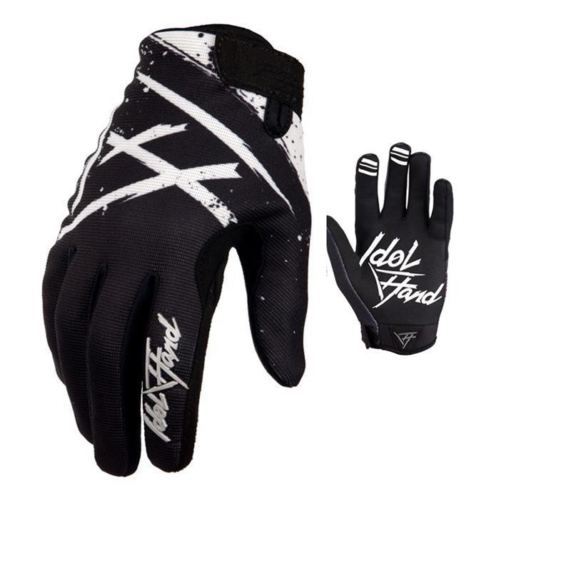 Idol Hand Unisex Handschuhe Pursuit Holeshot, Weiß