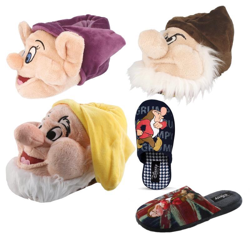 Tierhausschuhe Unisex Hausschuhe Disney Die 7 Zwerge