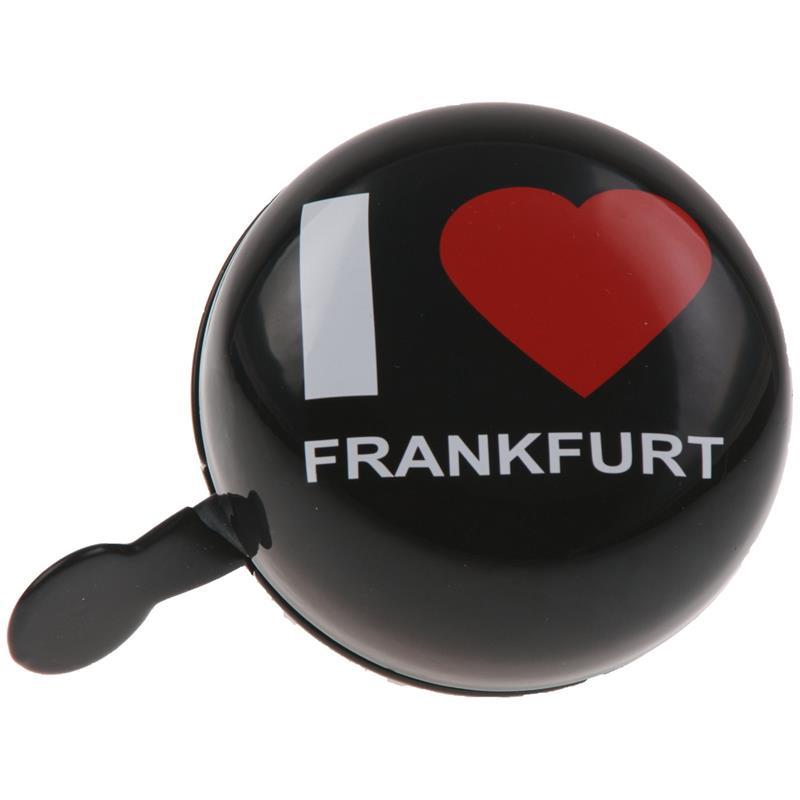 SAMs Fahrradklingel DingDong I Love Frankfurt, Schwarz