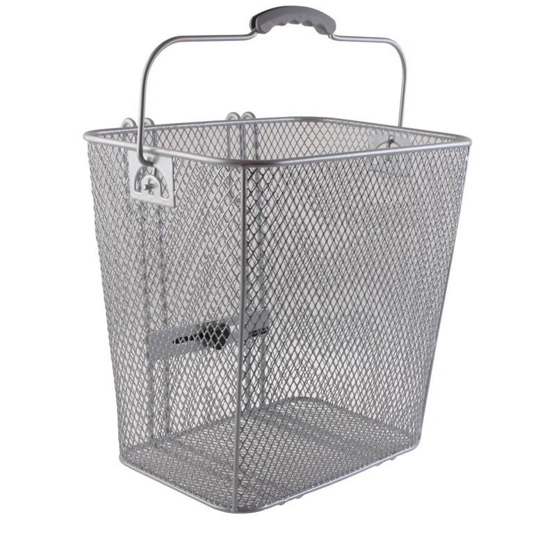 Electra Fahrradkorb Steel Mesh Basket Rack Pan, Silber