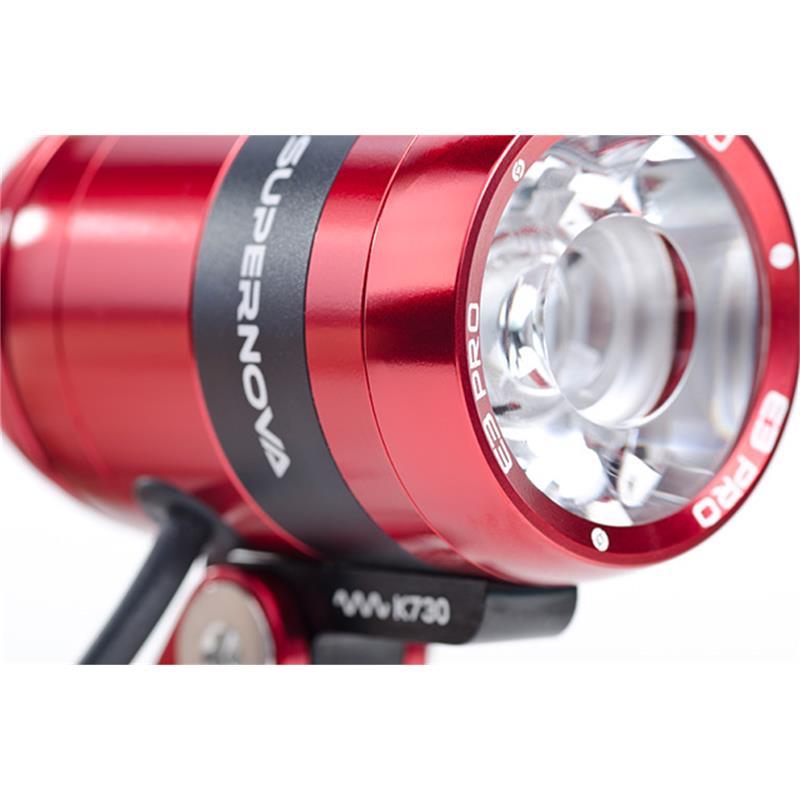 SUPERNOVA LED Scheinwerfer E3 Pro 2 Terraflux 2, Rot