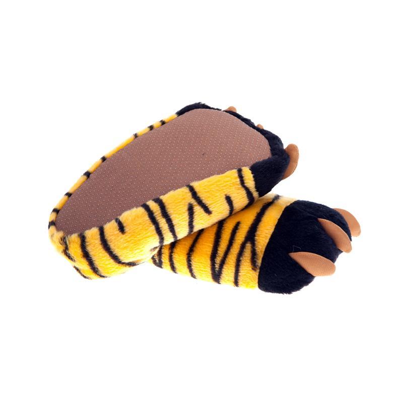 SAMs Unisex Tierhausschuhe Tigerkralle