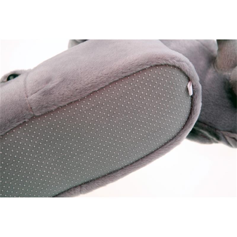 SAMs Tierhausschuhe Nashorn, Grau