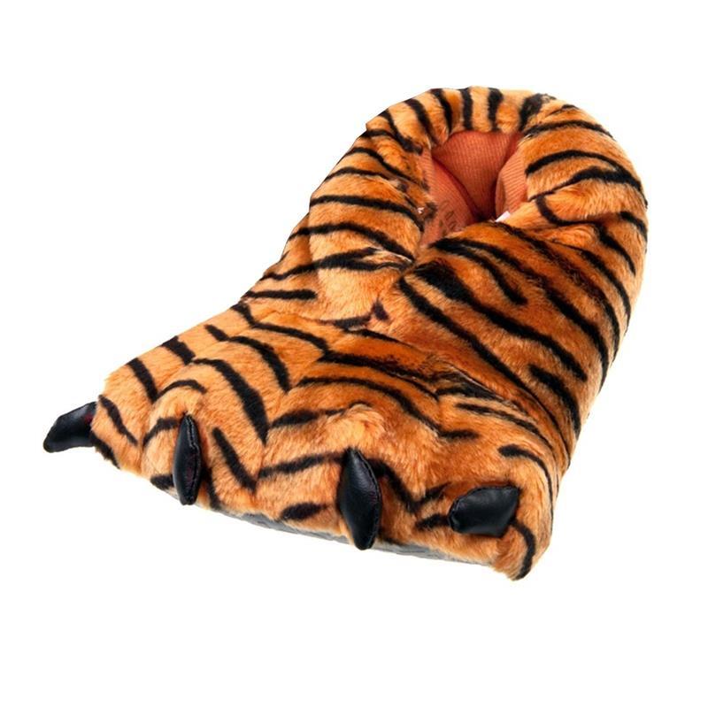 SAMs Unisex Tierhausschuhe Tigerkralle, Orange