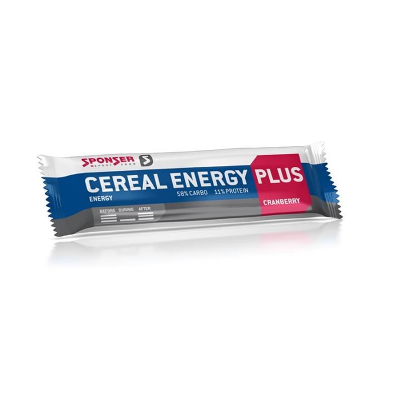 Sponser Cereal Energy Plus Cranberry, 1x 40 g