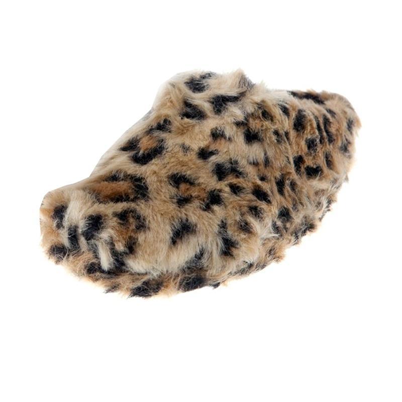 SAMs Tierhausschuhe Gepard, Braun