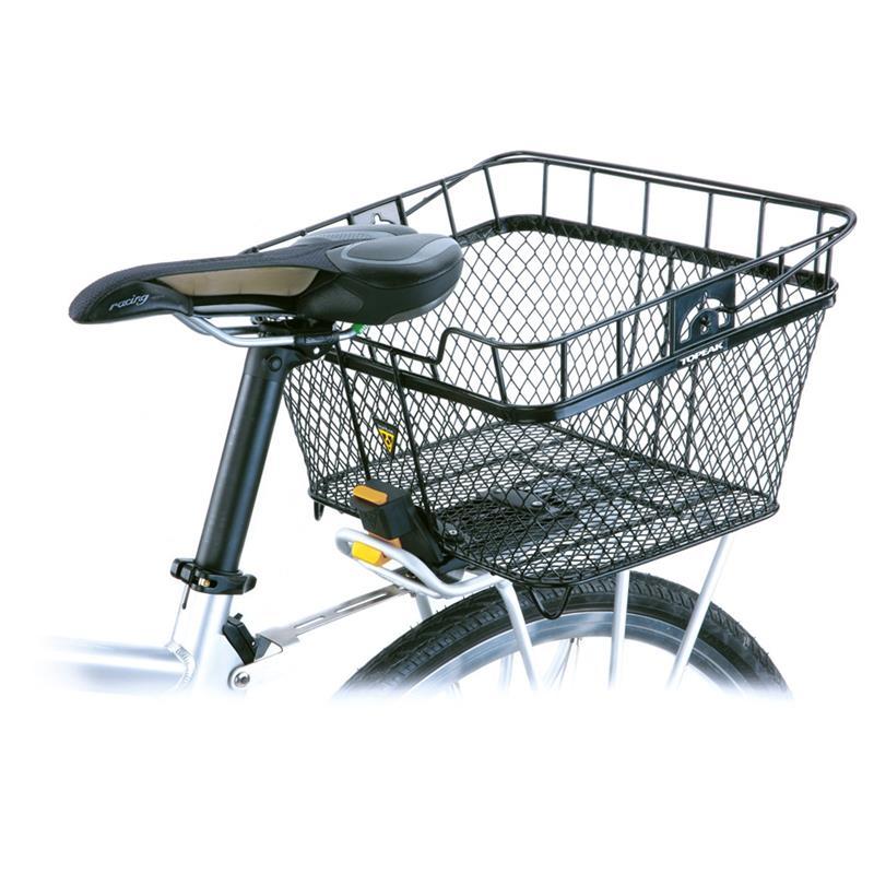 Topeak Fahrradkorb MTX Basket Rear, Schwarz