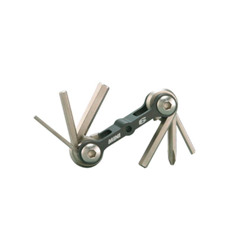 Topeak Multifunktionswerkzeug Mini 6, Grau