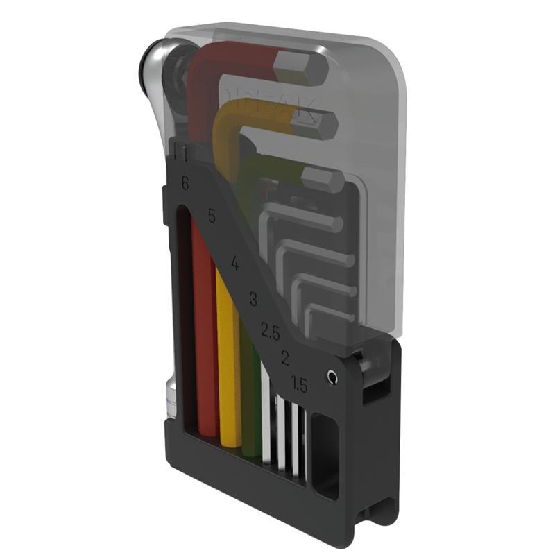 Topeak Ratschenset Omni ToolCard, Mehrfarbig
