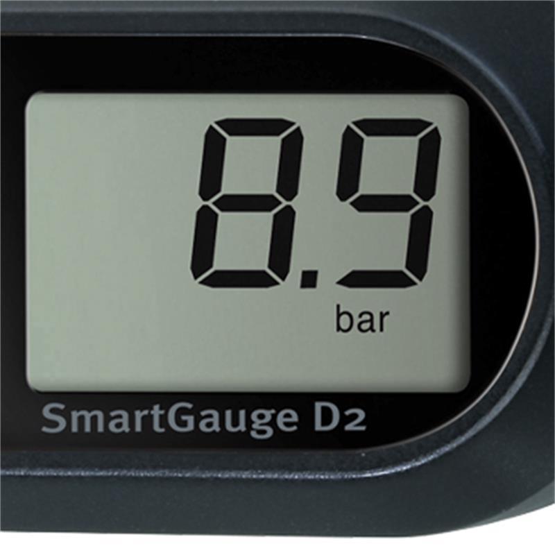 Topeak Digitalmanometer SmartGauge D2, Schwarz