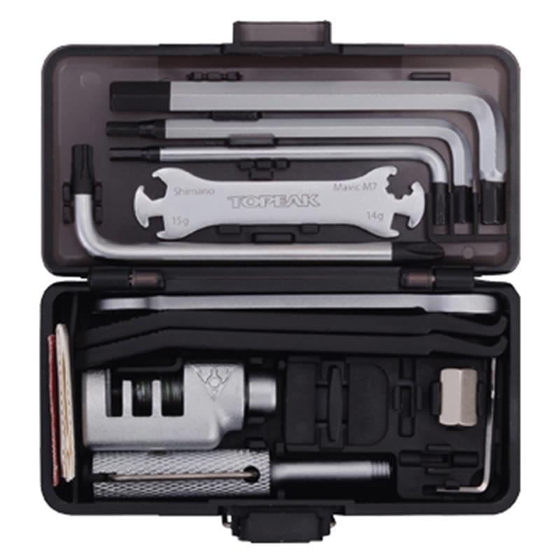 Topeak Werkzeugkoffer Survival Gear Box, Grau