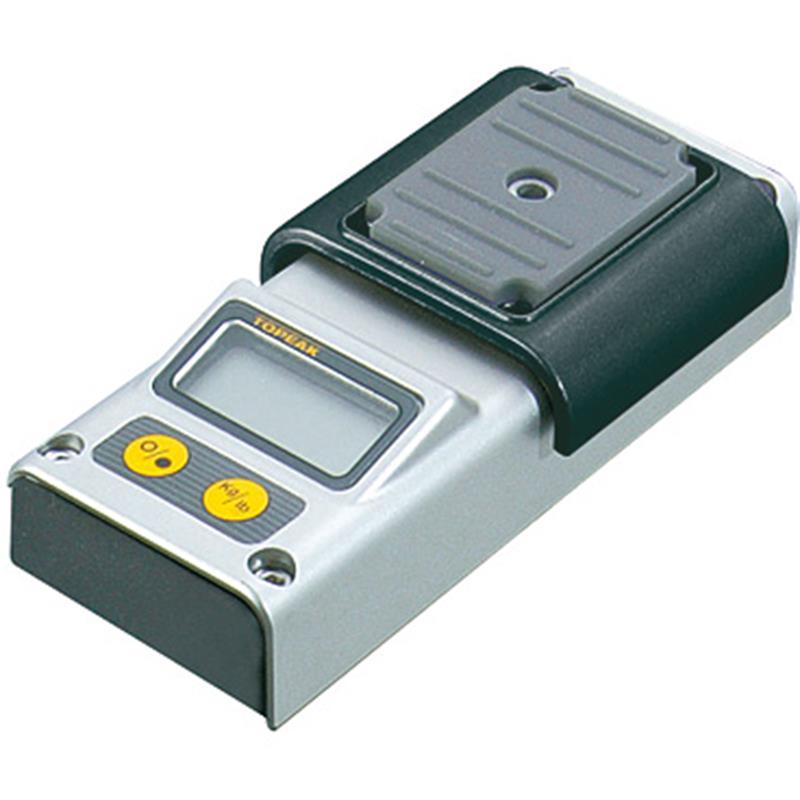 Topeak Digital Waage Kompatibel mit Prepstand Montageständer, Grau