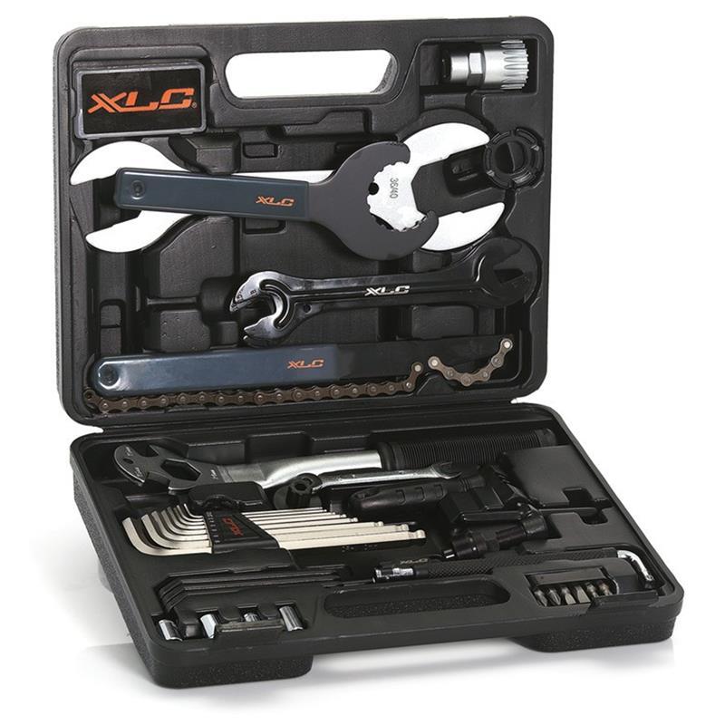 XLC Werkzeugkoffer TO-S61, Schwarz