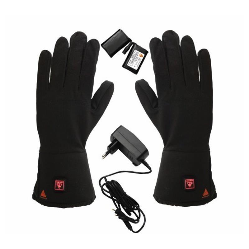 Alpenheat Unisex Beheizbare Handschuhe Fire-Gloveliner, Schwarz