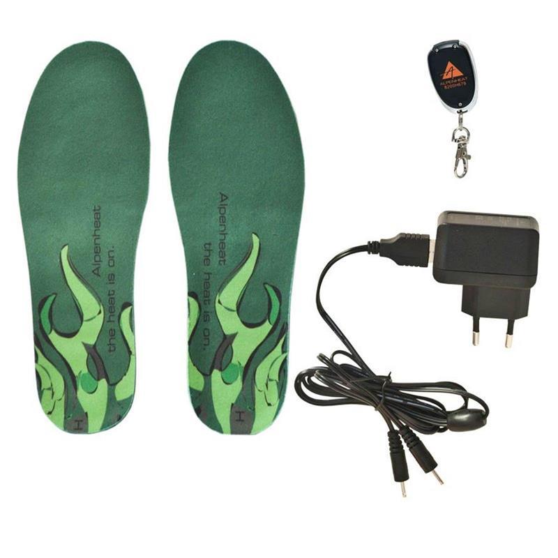 Alpenheat Schuhheizung AH10 Wireless HotSole, Grün