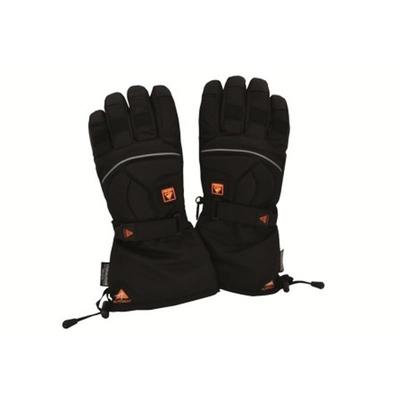 Alpenheat Unisex Beheizbare Handschuhe AG2 Fire-Glove, Schwarz
