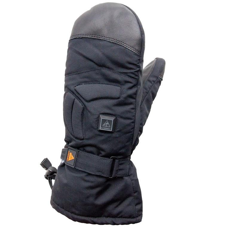 Alpenheat Unisex Beheizbare Handschuhe Fire Mitten Deluxe, Schwarz