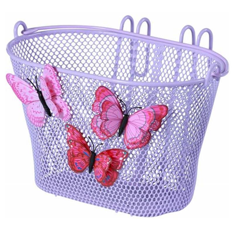 Basil Kinder Fahrradkorb Jasmin Butterfly