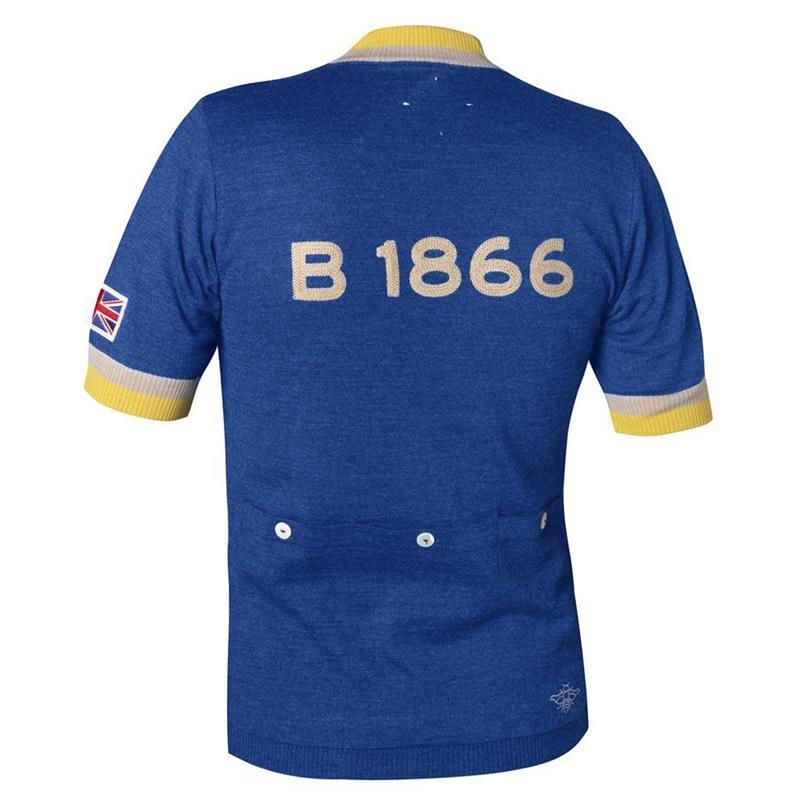 Brooks Unisex Trikot Kurzarm LEroica B1866, Blau