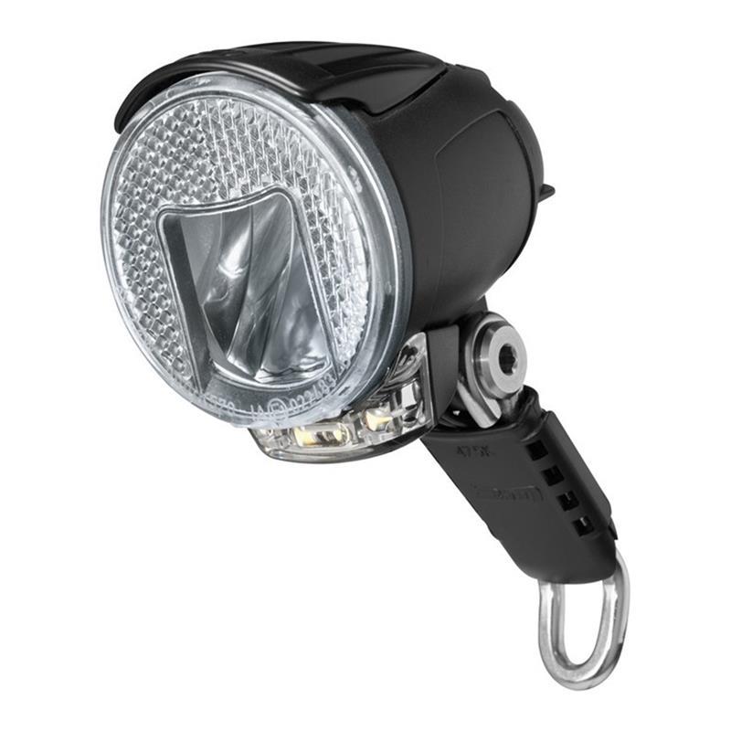 Busch & Müller LED Scheinwerfer Lumotec IQ Cyo R Premium T Senso, Schwarz