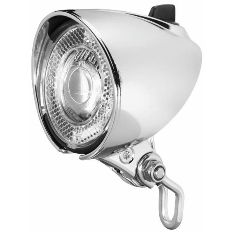 Busch & Müller LED Scheinwerfer Lumotec Classic N Plus, Silber