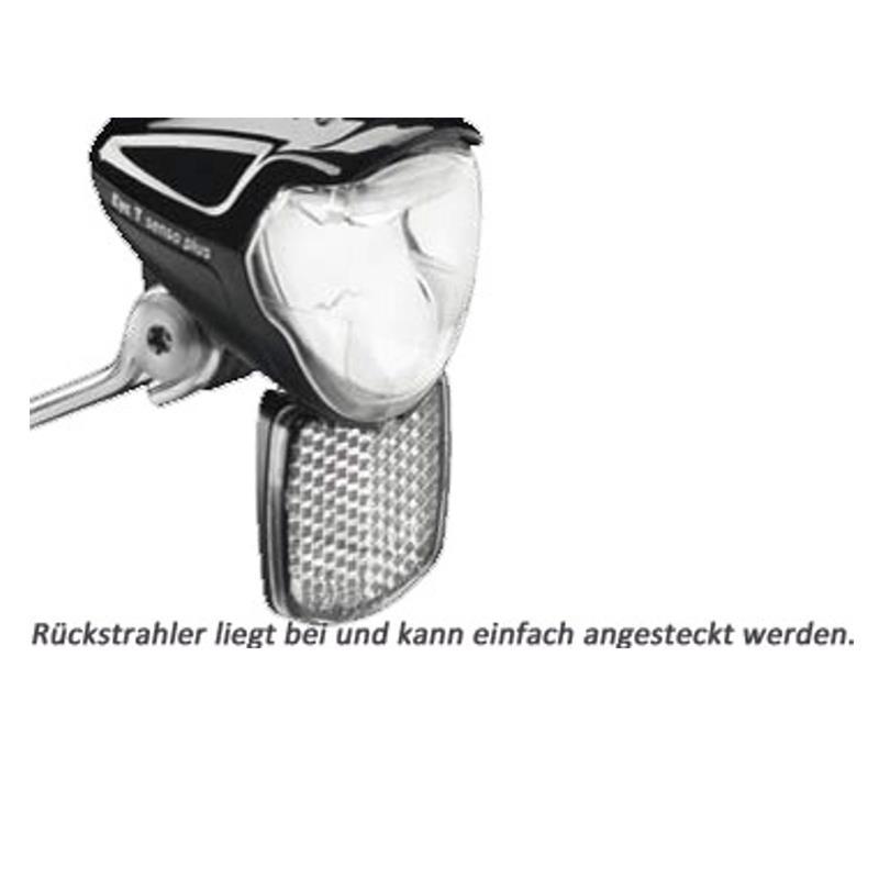 Busch & Müller LED Scheinwerfer IQ2 Eyc N Senso Plus, Schwarz