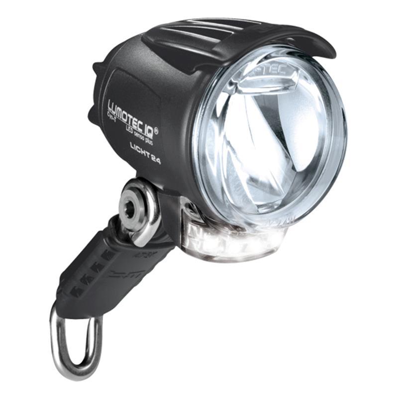 Busch & Müller LED Scheinwerfer Lumotec IQ Cyo T Senso Plus, Schwarz
