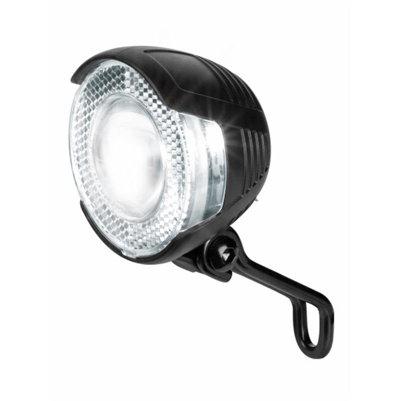 Busch & Müller LED Scheinwerfer Lumotec Lyt N Senso, Schwarz