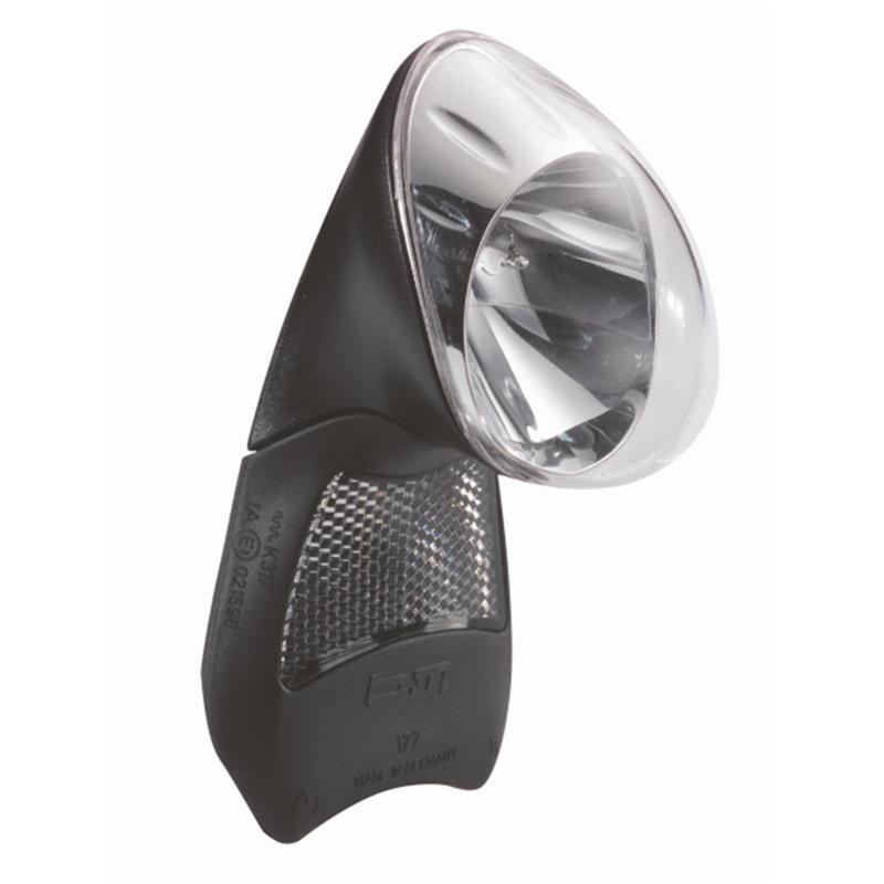 Busch & Müller LED Scheinwerfer D-Lumotec Topal, Schwarz