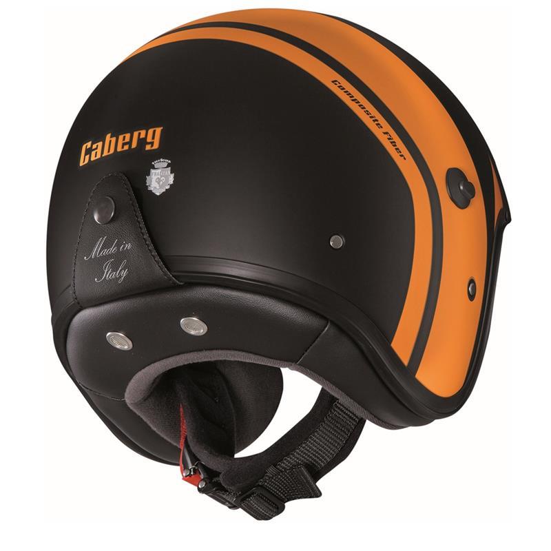 Caberg Jethelm Freeride Mistral, Schwarz Orange