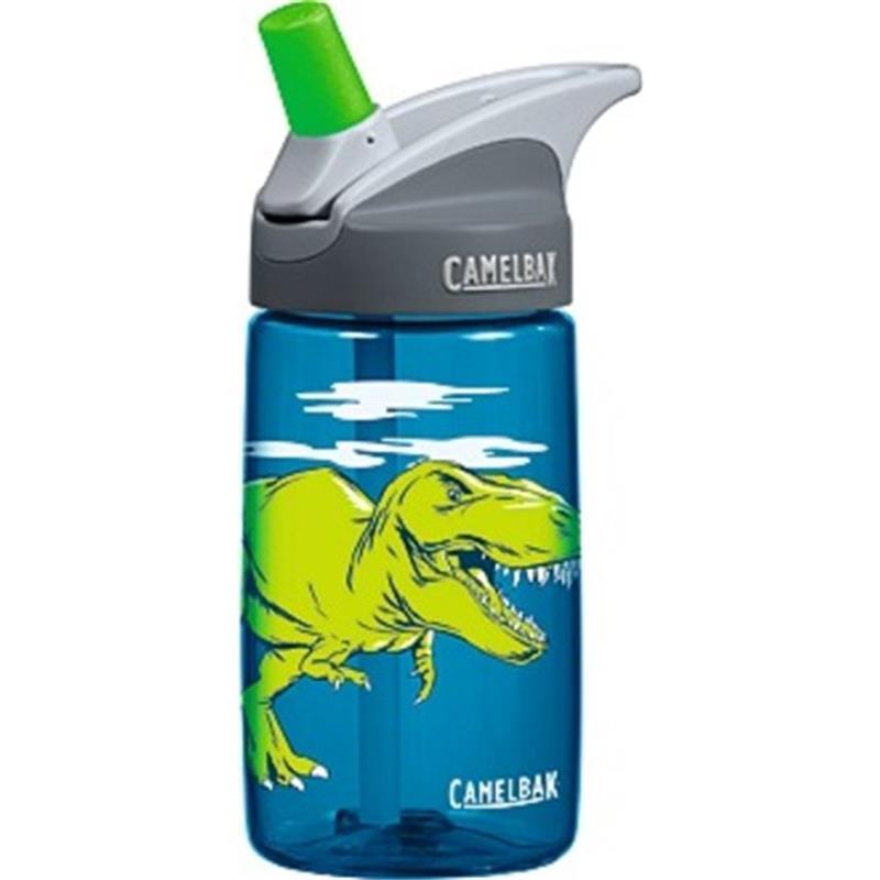 Camelbak Kinder Trinkflasche Eddy T-Rex 400 ml, Blau Grün