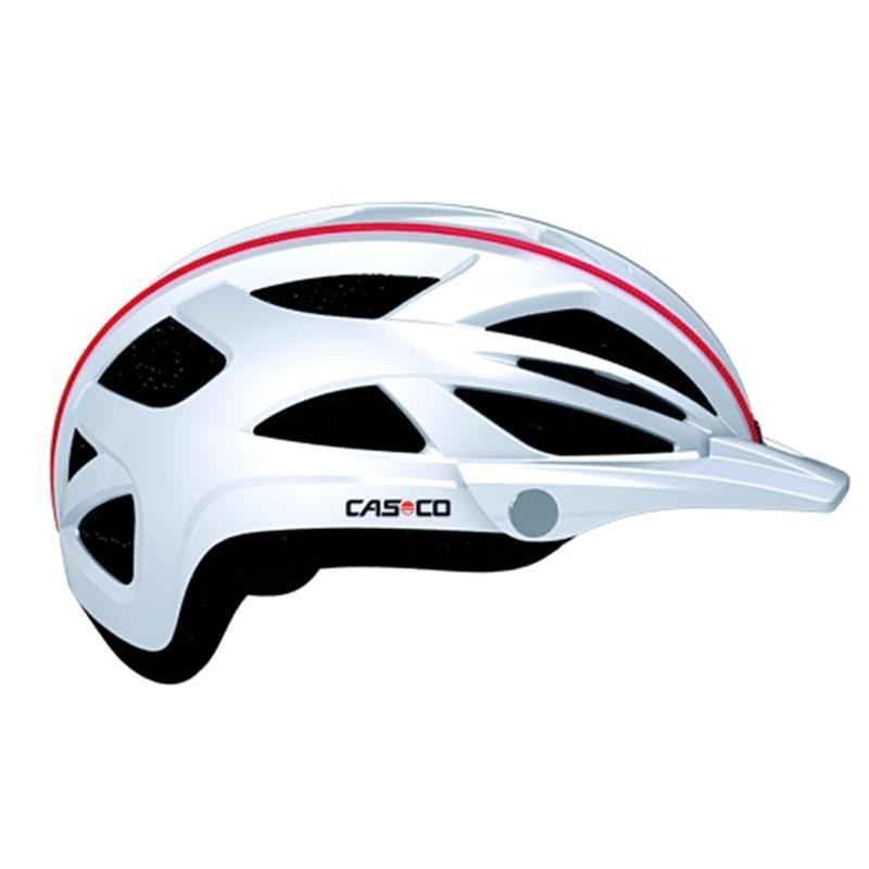 CASCO Fahrradhelm Active TC, Weiß