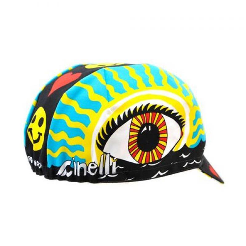 Cinelli Fahrradkappe Eye of the Storm, Mehrfarbig