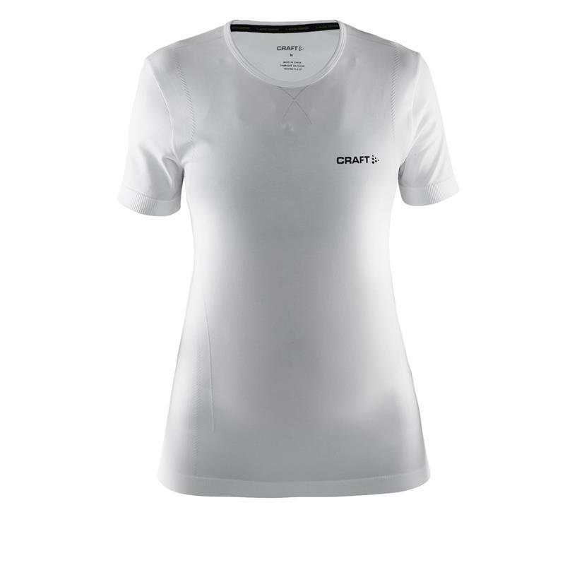CRAFT Damen Shirt Active Comfort RN SS W, Weiß