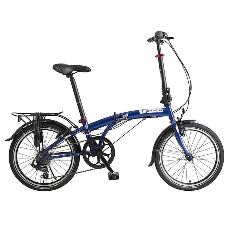 "Dahon Unisex Fahrrad SUV D6 Faltrad, Blau, 6 Gang, 20"""