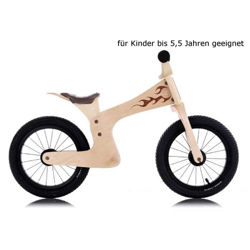 """Early Rider Lauflernrad Evo Natural, 14"""", Beige"""