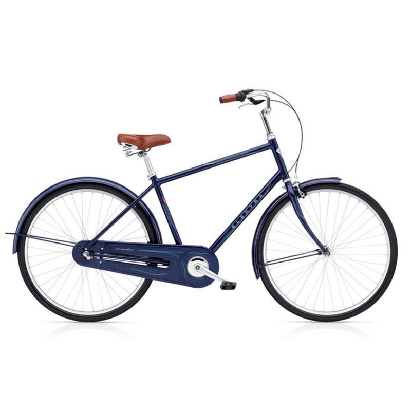 "Electra Herren Fahrrad Amsterdam Original 3i Hollandrad, Blau, 3 Gang, 28"""